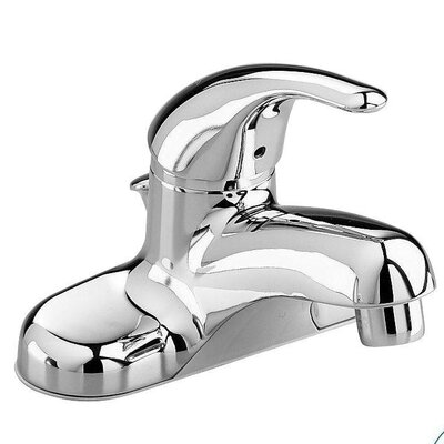 Colony Soft Centerset Single Handle Bathroom Faucet with Drain Assembly