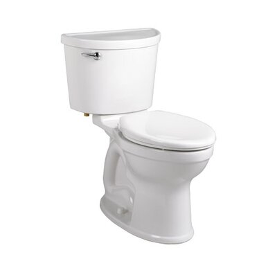 Champion Pro Right Height 1.28 GPF Elongated Two-Piece Toilet Finish: White