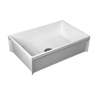 Commercial Fiat 9.5 x 24 Freestanding Molded Utility Sink