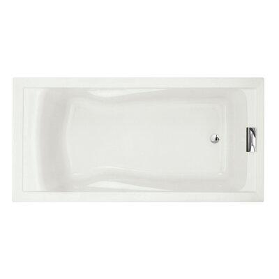 Evolution 72 x 36 Deep Drop-in Alcove Soaking Bathtub