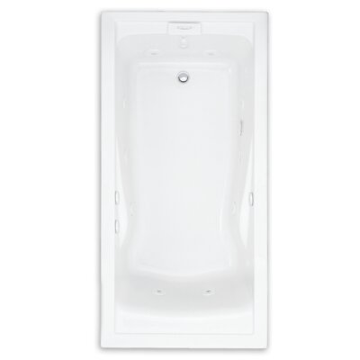 Evolution Soak EverClean 60 x 36 Deep Undermount Whirlpool Bathtub