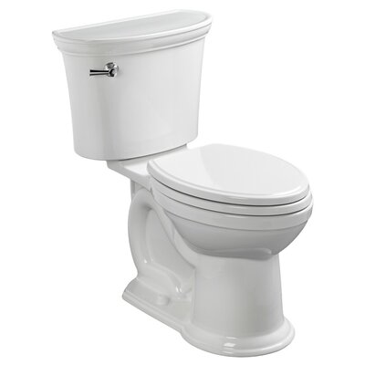 Heritage Vormax 1.28 GPF Elongated Two-Piece Toilet Finish: White