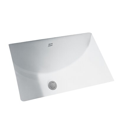 Studio Rectangular Undermount Bathroom Sink