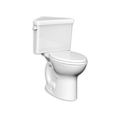Cadet Triangle Pro Right Height 1.6 GPF Round Two-Piece Toilet