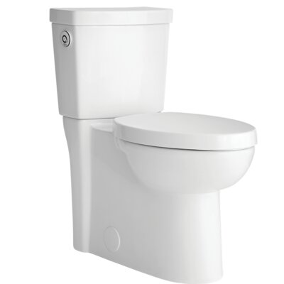 Studio Activate Right Height 1.28 GPF Round Two-Piece Toilet