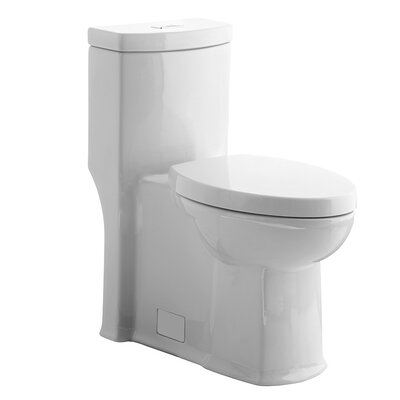 Boulevard Right Height 1.6 GPF Elongated One-Piece Toilet