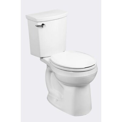 H2Optimum Siphonic1.1 GPF Round Two-Piece Toilet