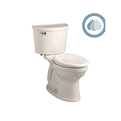 Champion Pro Right Height 1.28 GPF Elongated Two-Piece Toilet Finish: Linen