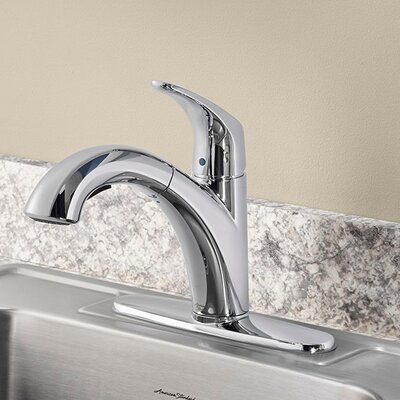 Colony Pro Single Handle Pull Out Standard Kitchen Faucet