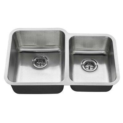 31 x 20 Double Basin Undermount Kitchen Sink