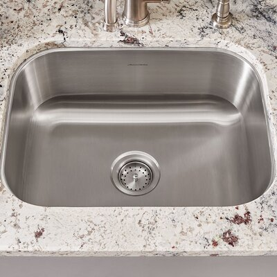 Portsmouth 23.38 x 17.75 Single Bowl Undermount Kitchen Sink