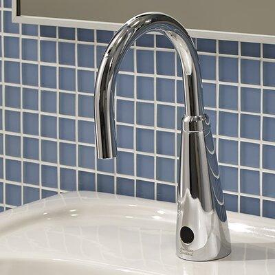 Selectronic Gooseneck Single Hole Bathroom Faucet Less Handle