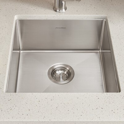 Pekoe 17 x 17 Undermount Kitchen Sink with Drain and Bottom Grid