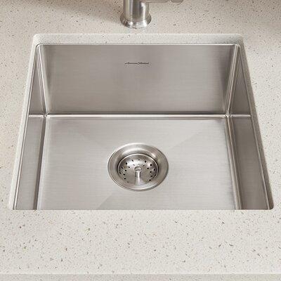 Pekoe 17 x 17 Undermount Kitchen Sink with Drain and Bottom Grid