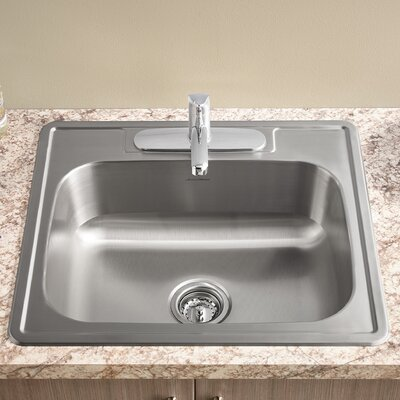 Colony 15 x 15 Single Bowl Drop-In Kitchen Sink
