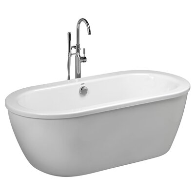 Cadet 64.625x 30.625 Freestanding Soaking Bathtub