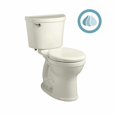 Champion Pro 1.6 GPF Round Two-Piece Toilet Finish: Linen