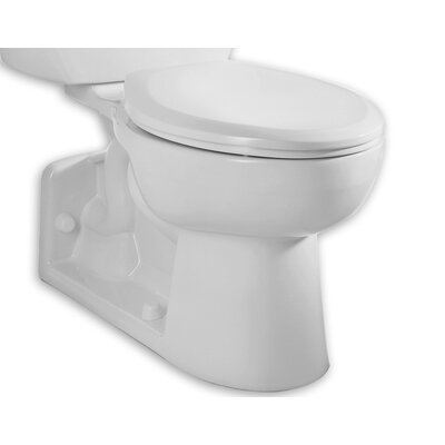 High Dual Flush Universal Toilet Bowl Finish: White