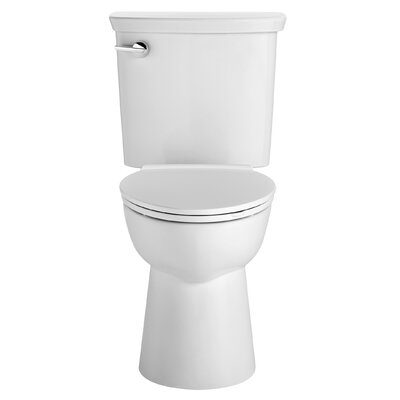 VorMax Dual Flush Elongated Two-Piece Toilet Finish: White