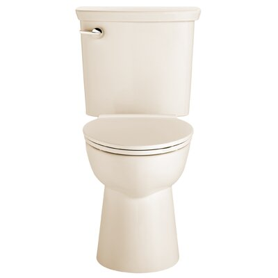 VorMax Dual Flush Elongated Two-Piece Toilet Finish: Bone