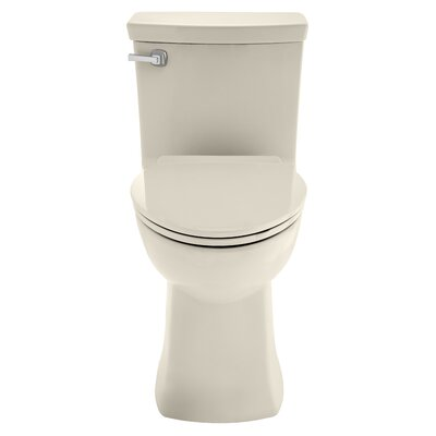 Townsend Vormax Dual Flush Elongated One-Piece Toilet Finish: Linen
