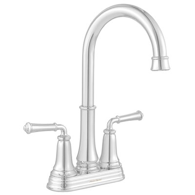 Delancey Double Handle Kitchen Faucet Finish: Polished Chrome