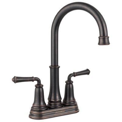 Delancey Double Handle Kitchen Faucet Finish: Legacy Bronze