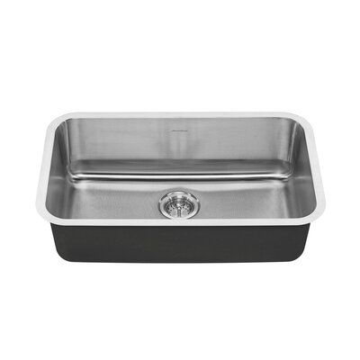 Portsmouth 29.75 x 18 Single Bowl Undermount Kitchen Sink