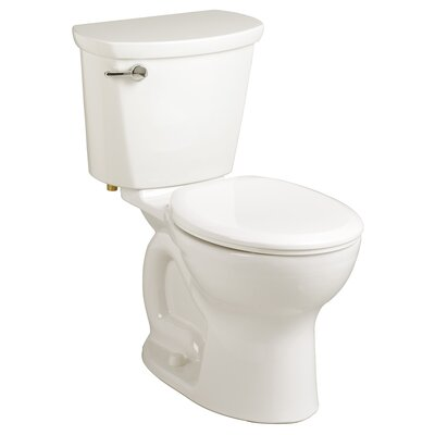 Cadet 1.6 GPF Round Two-Piece Toilet Finish: White