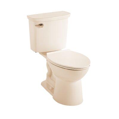 VorMax Dual Flush Elongated Two-Piece Toilet Finish: Bone