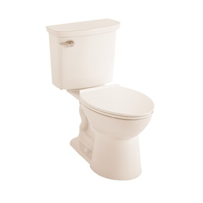 VorMax Dual Flush Elongated Two-Piece Toilet Finish: Linen