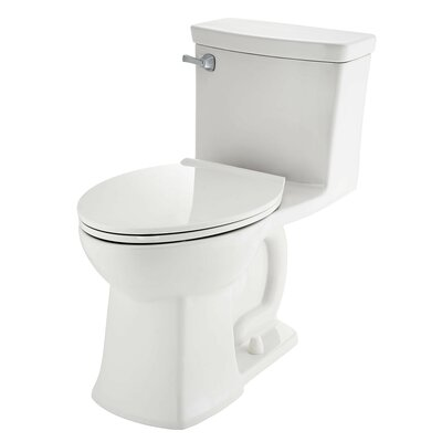 Townsend Vormax Dual Flush Elongated One-Piece Toilet Finish: White