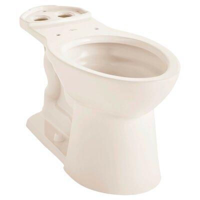 VorMax Dual Flush Elongated Toilet Bowl Finish: Linen