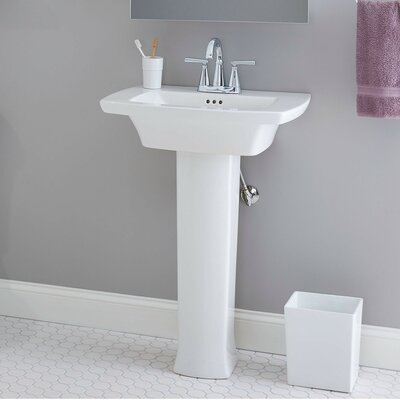 Edgemere Bathroom Pedestal Base