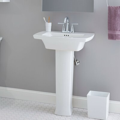 Edgemere 25 Console Bathroom Sink with Overflow