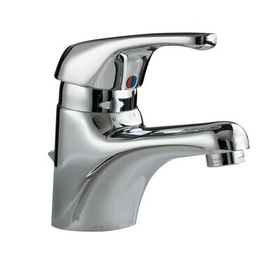 Seva Centerset Bathroom Faucet with Single Handle Finish: Chrome