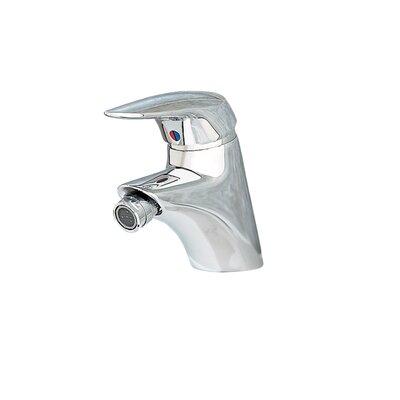 Ceramix Single Handle Swivel Spray Bidet Faucet Finish: Chrome