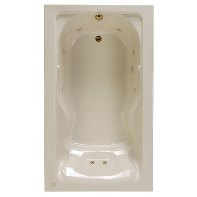 Cadet 72 x 42 Soaking Bathtub Finish: Linen