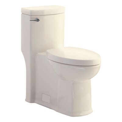 Boulevard Flowise Right Height 1.28 GPF Elongated One-Piece Toilet Finish: Linen