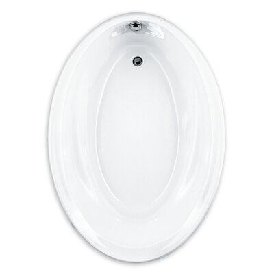 Savona 60 x 42 Oval Soaking Bathtub Finish: Linen