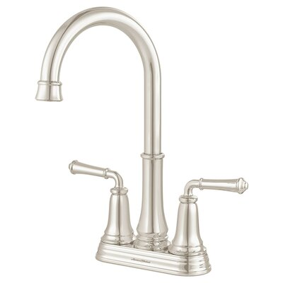 Delancey Double Handle Kitchen Faucet Finish: Polished Nickel