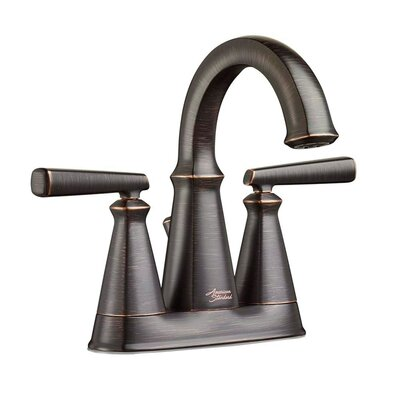 Edgemere Centerset Double Handle Bathroom Faucet with Drain Assembly Finish: Legacy Bronze