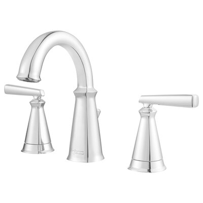 Edgemere Widespread Doudle Handle Bathroom Faucet Finish: Chrome
