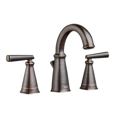 Edgemere Widespread Doudle Handle Bathroom Faucet Finish: Legacy Bronze