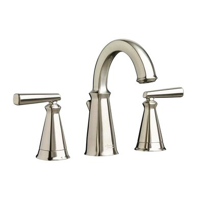 Edgemere Widespread Doudle Handle Bathroom Faucet Finish: Brushed Nickel