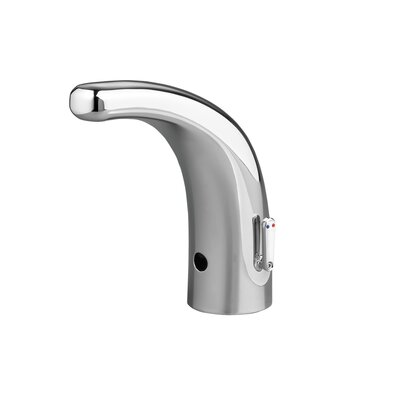 Selectronic Automatic Single Hole Integrated Faucet with Above-Deck Mixing Flow Rate: 0.5 GPF