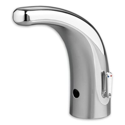 Selectronic Automatic Single Hole Integrated Faucet with Above-Deck Mixing Flow Rate: 1 GPF