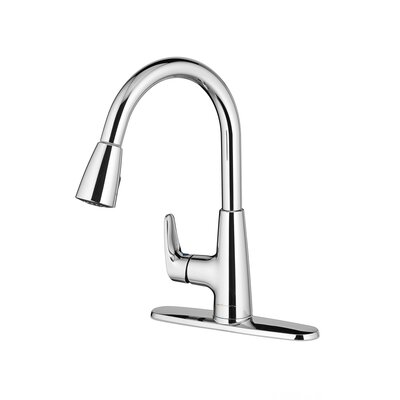 Colony Pro Pull Down Bar Faucet Finish: Polished Chrome