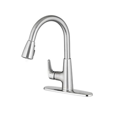 Colony Pro Pull Down Bar Faucet Finish: Stainless Steel