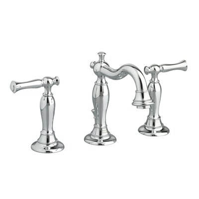Quentin Double Handle Widespread Bathroom Faucet Finish: Polished Chrome